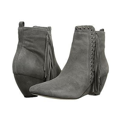 Matisse Sissy (Grey Leather Suede) Women