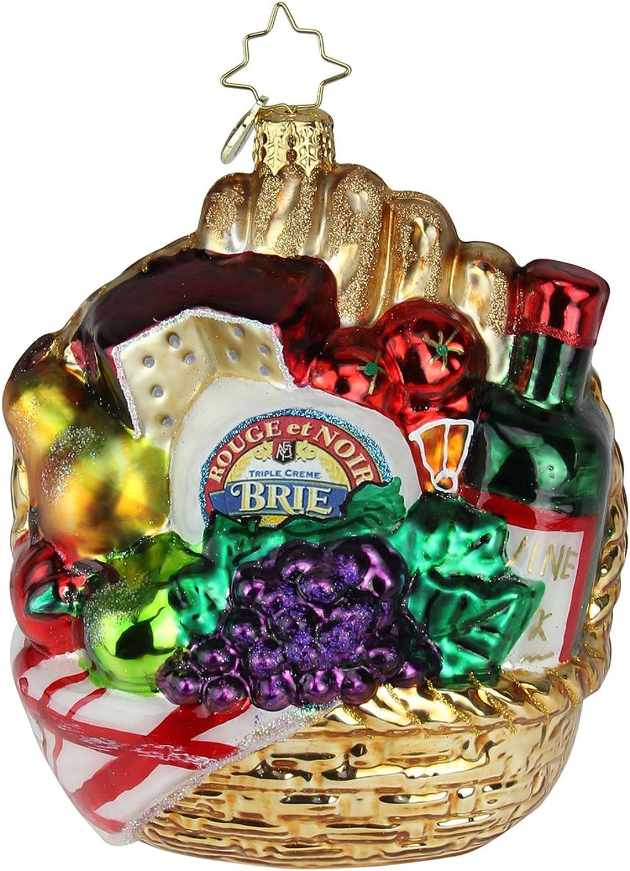 Christopher Radko Pick-Nick For Two  Christmas Ornament