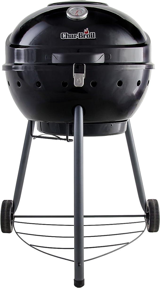 Char-Broil TRU-Infrared Kettleman Charcoal Grill – Best for Basic Backyard BBQ