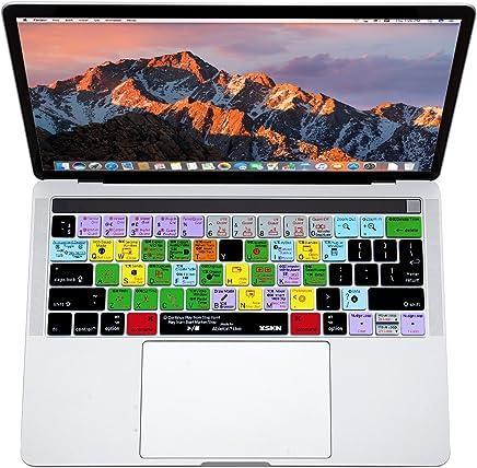 XSKN Ableton Live Cover per tastiera in silicone con collegamento in inglese per Apple MacBook 13 pollici / 15 pollici (A1706 e A1707) con barra multi touch, UE US layout universale - Trova i prezzi più bassi