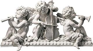Angelic Notes Sculptural Wall Pediment [Kitchen]