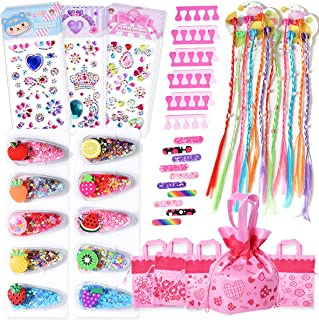 Spove Spa Party Supplies for Girls Spa Party Favors Mini Kit for Kids Slumber Multiple Bithday Party Supplies Nail Art Too...