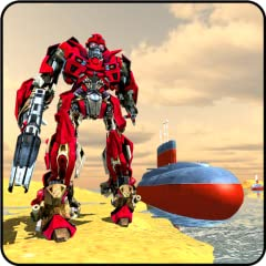 Best 3D robot transformation models. Smooth execution of the transforming Russian submarine. Ultimate naval warfare sound effects. Challenging underwater game missions. Best controls for the robot transforming games.