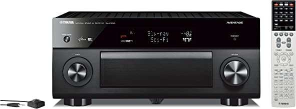 Yamaha RX-A3040BL 9.2-Channel Wi-Fi Network AVENTAGE Home Theater Receiver