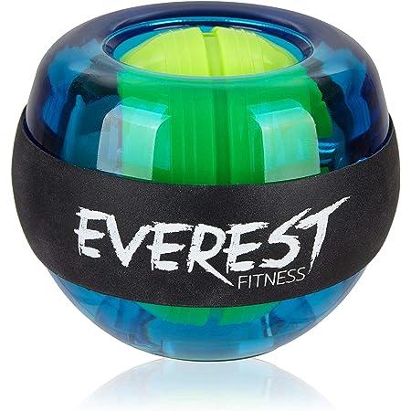 EVEREST FITNESS energyball per allenare la muscolatura di Mani e Braccia, con Impugnatura Rivestita in Gomma, Struttura in plastica infrangibile - Hand Trainer, gyroball, gyrotwister