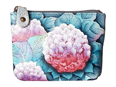 Anuschka Handbags Coin Pouch 1031 (Hypnotic Hydrangeas) Handbags