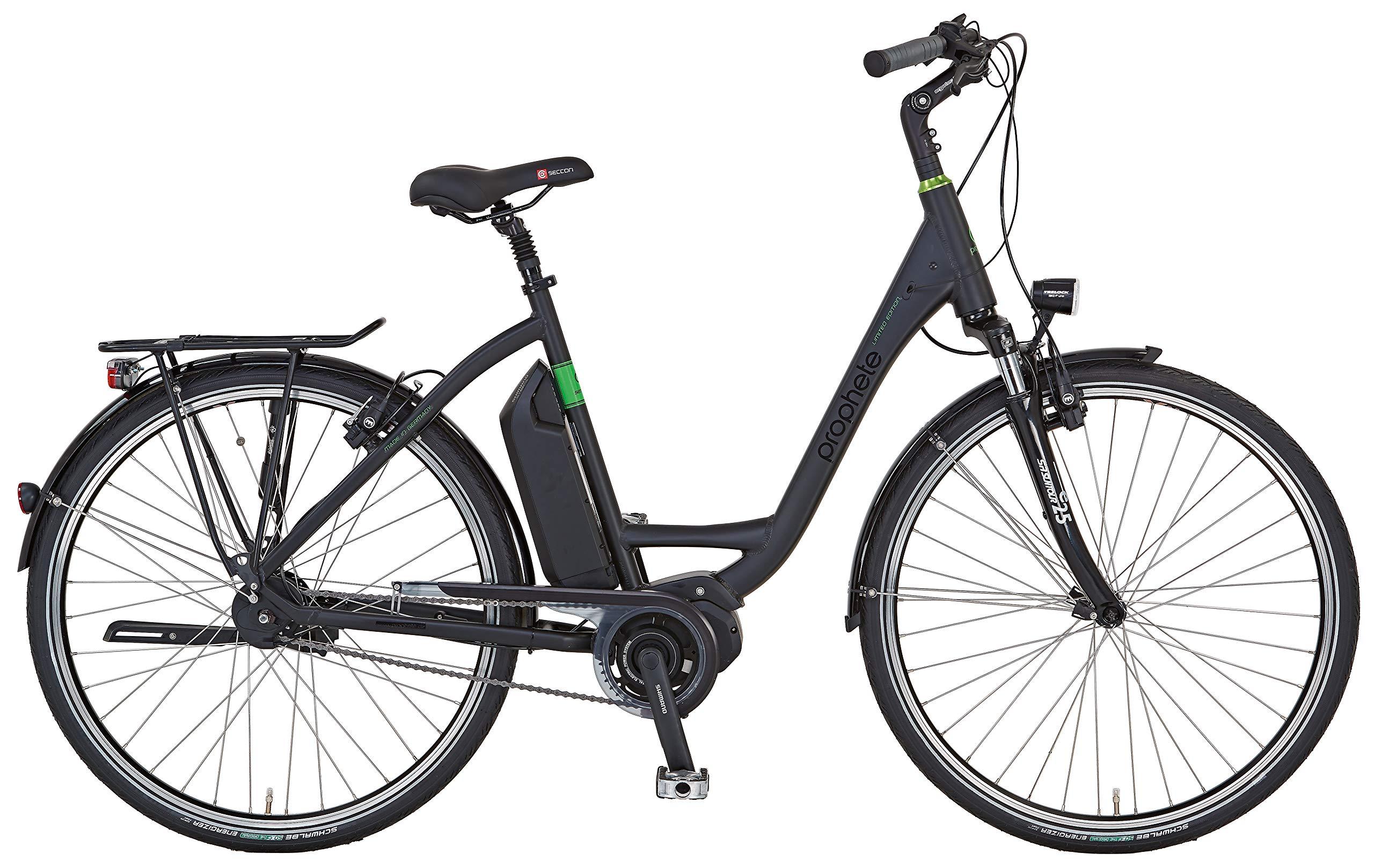 Prophete Limited Edition ALU City 28 Zoll, RH 50 Bicicleta eléctrica, Mujer, Negro Mate, Medium: Amazon.es: Deportes y aire libre