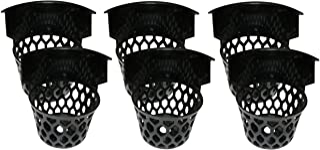Iszy Billiards 6 3/4-Inch H Web Plastic Pool Table Pockets-Set of 6, Black