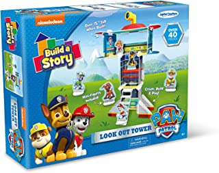 """Nickelodeon Build A Story 13010 Paw Patrol Look Out Tower Stem Building Playset, 10"""" x 14"""", Multicolor (Pack of 64)"""