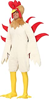 Rooster Costume Adult White Rooster Chicken Costume