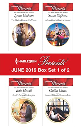 Harlequin Presents - June 2019 - Box Set 1 of 2: The Sheikh Crowns His Virgin/Greeks Nine-Month Redemption/A Scandalous Midnight in Madrid/Untamed Billionaires Innocent Bride (English Edition)