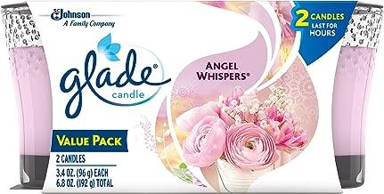 Glade Jar Candle Air Freshener, Angel Whispers, 3.4 oz