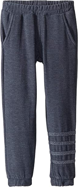 Extra Soft Joggers with Leg Stripes (Toddler/Little Kids)