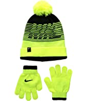 Nike Kids - Velocity Beanie & Gloves Set (Big Kids)