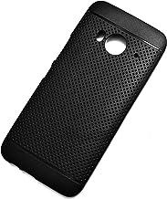 vakibo black dotted design premium soft matte silicon back cover case for htc one me