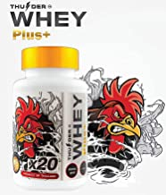 Faster X3 Formula Vitamins HEALTH SUPPLEMENT CAPSULES Rooster Booster Chicken Whey Protein Mixed Nourishing for Big Muscle & Mass Gain, Breeding, Healthy, Strong, Cock Fighting 60 Capsules Hen Feed