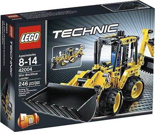 tienda de bajo costo LEGO Technic 42004 Mini Mini Mini Backhoe Loader by LEGO  ahorrar en el despacho