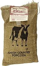 product image for Amish Country Popcorn | 2 lb Burlap Bag | Medium White Popcorn Kernels | Old Fashioned with Recipe Guide (Medium White - 2 lb Burlap Bag)