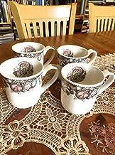 Mugs Set of 4 Johnson Brothers His Majesty Thanksgiving Turkey Bros
