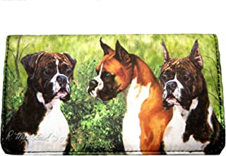 boxer dog wallet