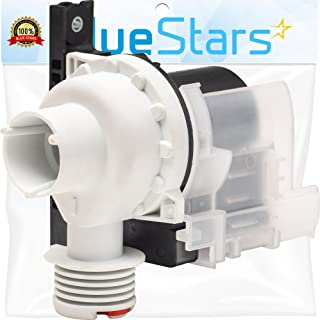 Ultra Durable 137221600 Washer Drain Pump Replacement Part by Blue Stars - Exact Fit for Electrolux Kenmore Frigidare Washers - Replaces 137108000 131724000 134051200 134740500, PS7783938, AP5684706