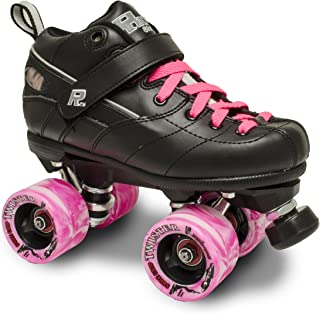 Sure-Grip Rock GT50 Twister Roller Skates W/Pink Twister and Pink LACE