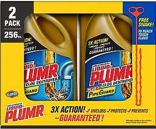 Product of Liquid-Plumr Full Clog Destroyer, Pro-Strength (128 oz. bottles, 2 pk.) - Drain & Septic Care [Bulk Savings]