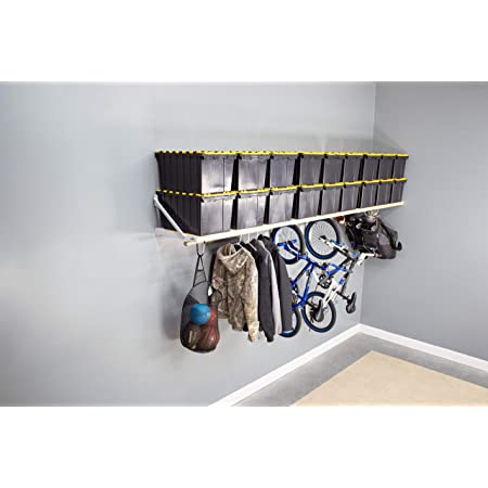 Amazon Com Camping Chair Wall Storage For Garage This Organizer System Holds 4 Chairs Simple Easy Wall Mount For Garage Organization Home Kitchen
