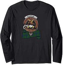 Graham Scottish Clan Badge & Tartan Long Sleeve T-Shirt