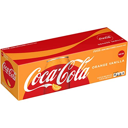Coca-Cola, Coke, Orange Vanilla, 12 oz (pack of 12)