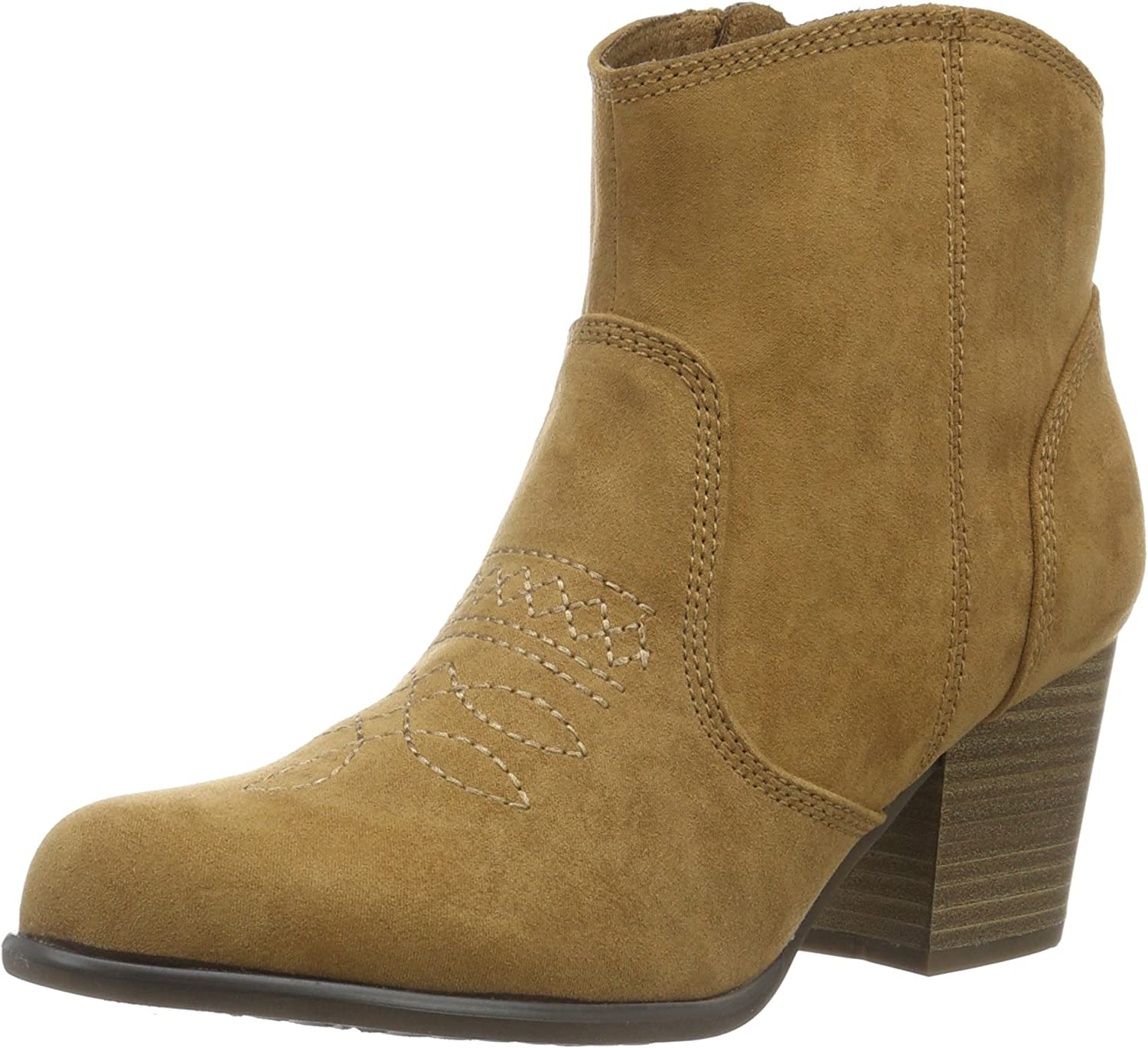 S.Oliver Women's Camel Brown Mid Heel Ankle Boot