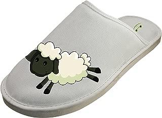 Cotton Sheep Cartoon House Slippers Baboosh Chinela Slipper