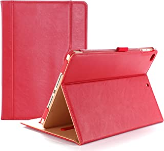 ProCase iPad 9.7 Case 2018/2017 iPad Case - Stand Folio Cover Case for Apple iPad 9.7 inch, Also Fit iPad Air 2 / iPad Air -Red