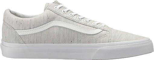 (Speckle Jersey) Gray/True White