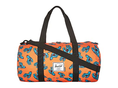 Herschel Supply Co. Sutton Mid-Volume (Firecracker Screaming Hand) Duffel Bags