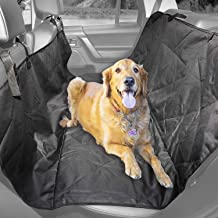 Durapower Car Seat Cover for Pets 100% Waterproof Pet Seat Cover Hammock 600D Heavy Duty Scratch Proof Nonslip Durable Soft Pet Back Seat Covers for Cars Trucks and SUVs