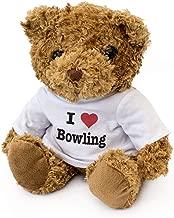 I Love Bowling - Teddy Bear - Cute Soft Cuddly - Gift Present Birthday Xmas