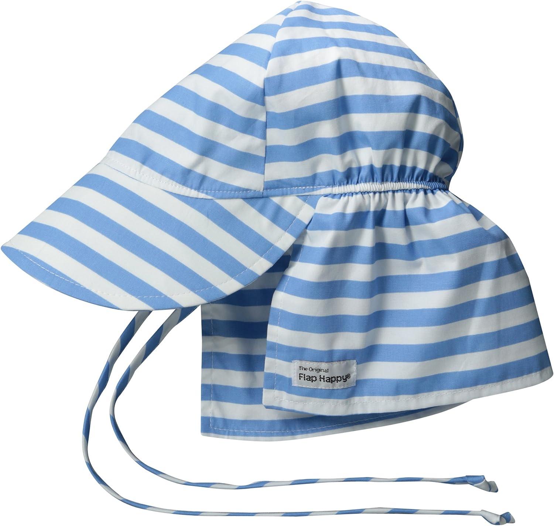 Flap Happy Boys' UPF Popularity 50+ Hat Ties Original W OFFicial store
