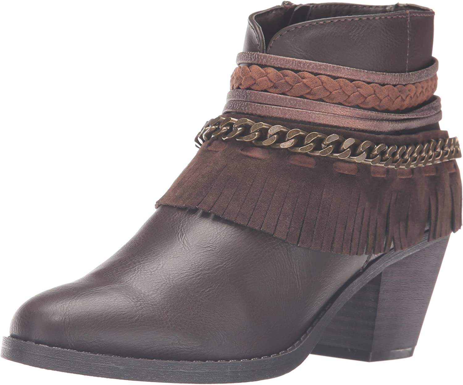 Rampage Womens Tumble Ankle Bootie