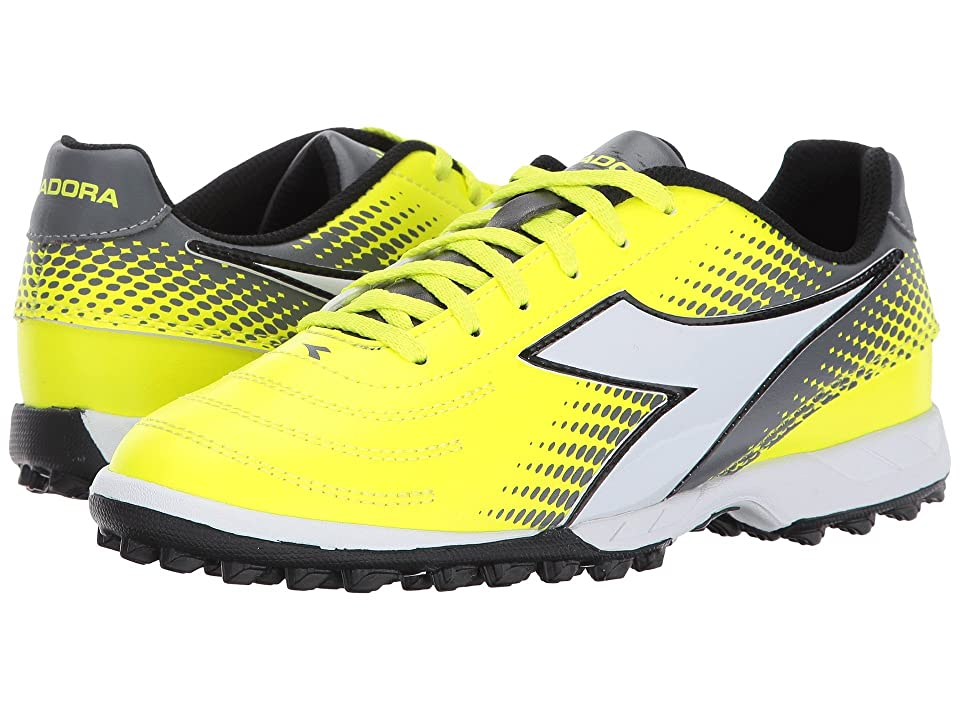 Diadora Mago R W TF (Yellow Flourescent/Silver/White) Women