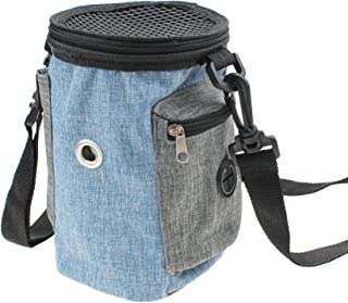 Alfie Pet - Blaire Pouch Purse Carrier for Small Animals Like Dwarf Hamster and Mouse - Color: Blue