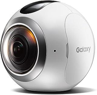 【Galaxy純正 国内正規品】 Galaxy 全天球カメラ Gear 360 Galaxy S7 edge / S6 / S6 edge対応 ホワイト SM-C200NZWAXJP