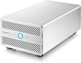 Akitio Thunder3 Duo Pro (Thunderbolt3 - Enclosure Only) - Windows ONLY : Currently not Supported by Mac