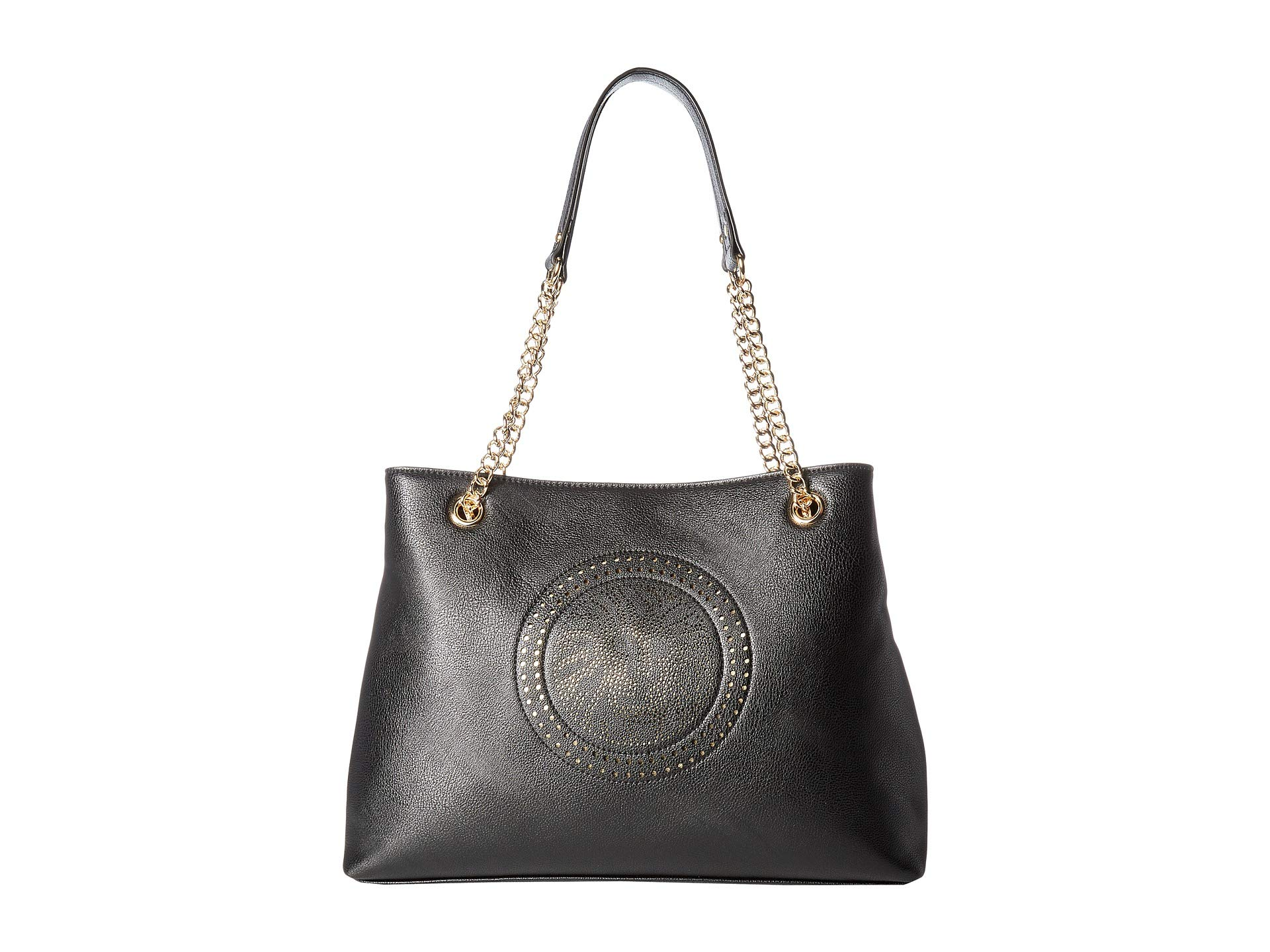 Chain Klein Lion Anne Black platinum Perf Tote tf76WqWwA