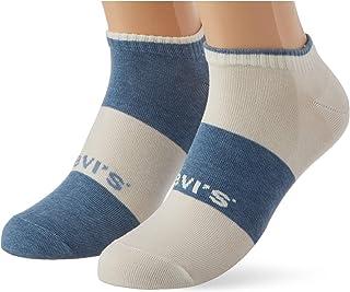 Levi's Sustainable Low Cut Socks (2 Pack) Calzini Unisex-Adulto