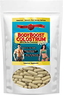 Colostrum Capsules 240 Count, 100% Whole 1st Milking, Satisfaction Guaranteed