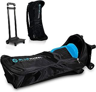 Erwachsene Bluewheel CASE6.5 / CASE10 Self Balance Scooter Rucksack Tragetasche Trolley mit 2 Rollen, 2 Rückenpolstern, versenkbarem Griff & Netztasche - Wasserabweisend & strapazierfähig