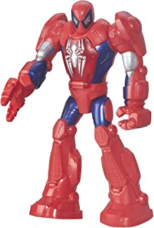 Super Hero Adventures Playskool Heroes Marvel Mech Armor Spider-Man