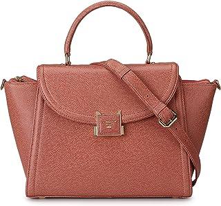 Pink Franzy Satchel Bag