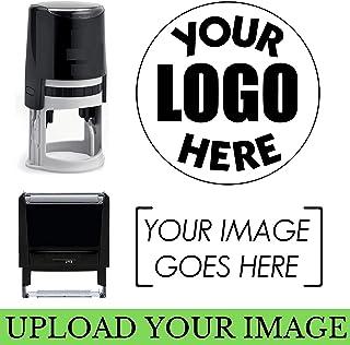 Choose Size - Logo Stamp | Custom Stamp | Personalized Business Stamp | Business Logo Stamp | Business Logo or Image Small Large Medium Round